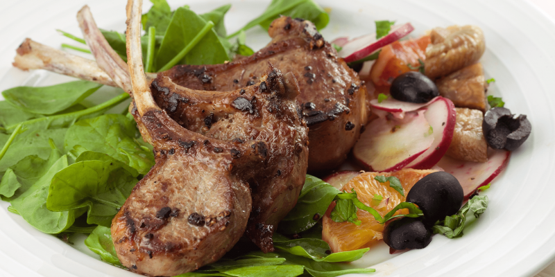 April Recipe of the Month: New Zealand Spring Rack of Lamb