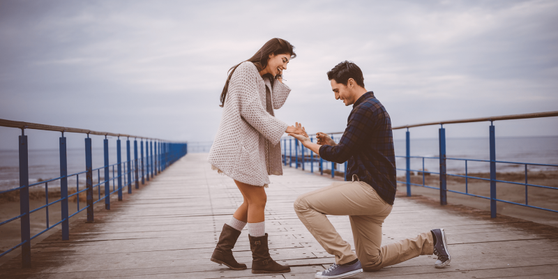 "Presenting our NEW ""I Said Yes"" proposal story series!"